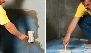 KROK I - Gruntowanie ścian i podłogi łazienki