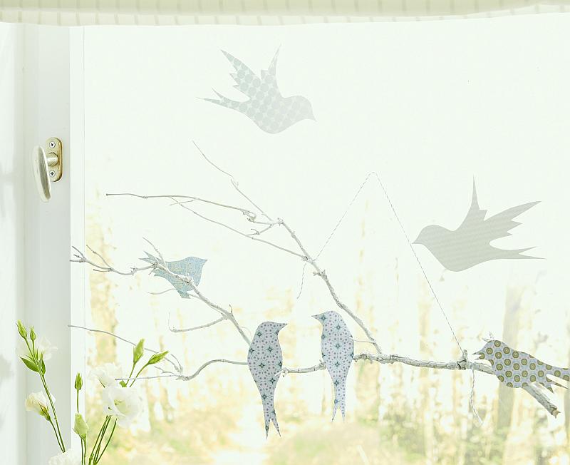 Wiosenna Dekoracja Na Okno Zdjęcie Zrobiszsampl